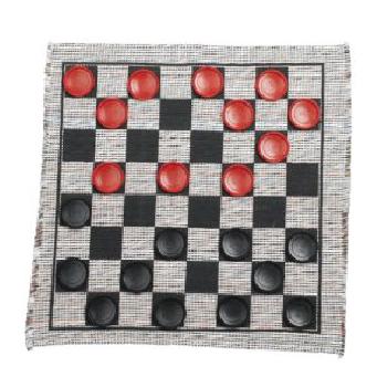 Jumbo Checker Set